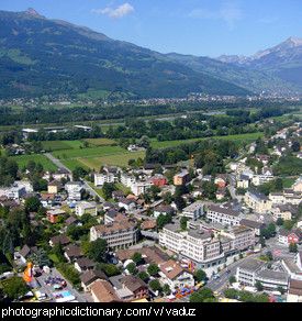 Photo of Vaduz, Liechtenstein