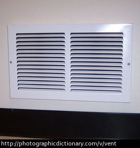 The vent in the picture can open