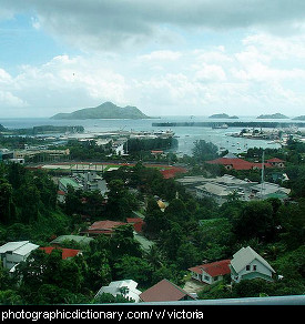 Photo of Victoria, Seychelles