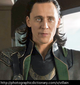 Loki is a villain from the Marvel Comic books.