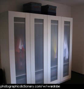 Photo of a wardrob