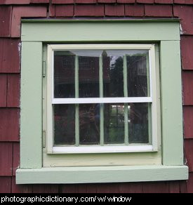 Photo of a window