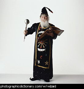 Photo of a wizard