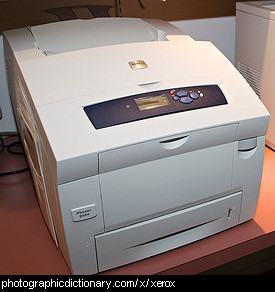 Photo of a Xerox