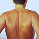 Photo of a mans back